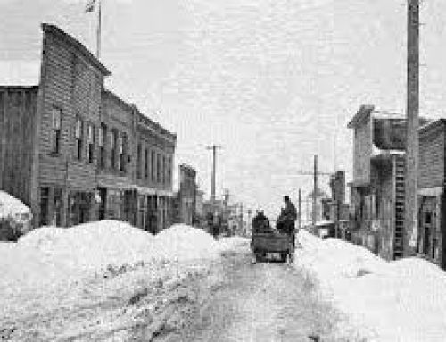 Old Park City…Main Street buried in snow!